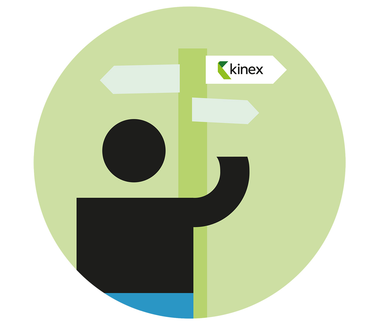 kinex switching sign