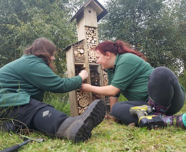 kinex helping kids get closer to nature with a donation to the Murton Trust