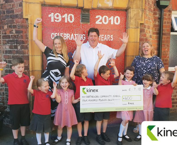 kinex supports Friends of Northenden Community School